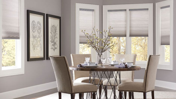 blindscom economy light filtering cellular shades