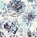 Color Sample - Watercolor Floral 5% Blue SG1027