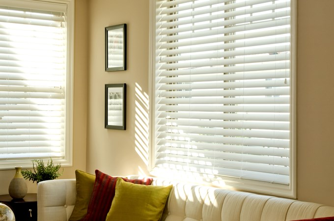 upgraded crown quot amazon com valance white with dp premium x blinds inches in faux fake wood