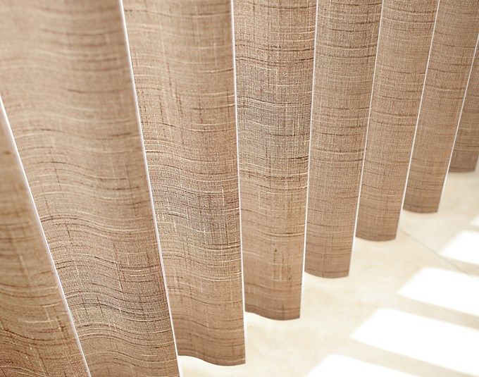 Levolor S Shaped Laminate Vertical Blinds Blinds Com