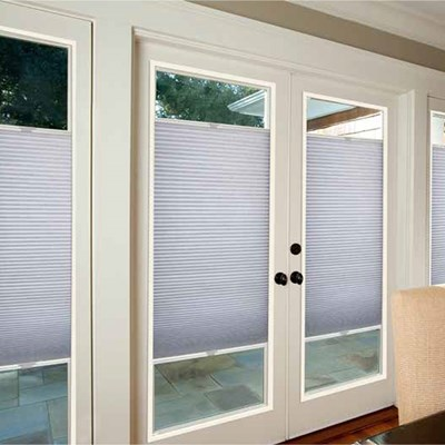 French Door Light Filtering Shade Blinds Com