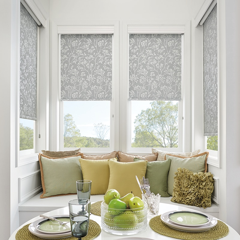 shown in gazebo moonglow product the bali roller shades