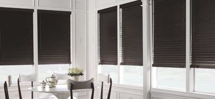 Yes or No Black Window Treatments The Finishing Touch