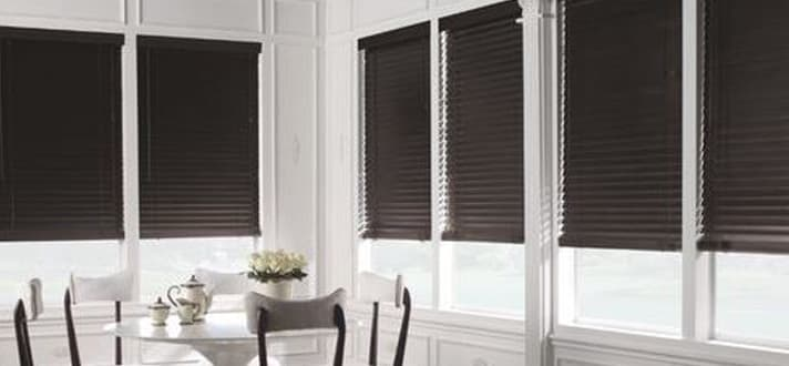 Yes Or No Black Window Treatments The Blinds Com Blog