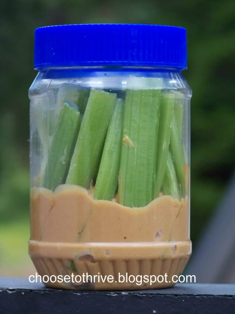 celery and peanut butter Ultimate Summer Road Trip Guide