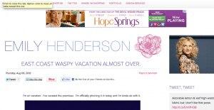 home design blog screen shot