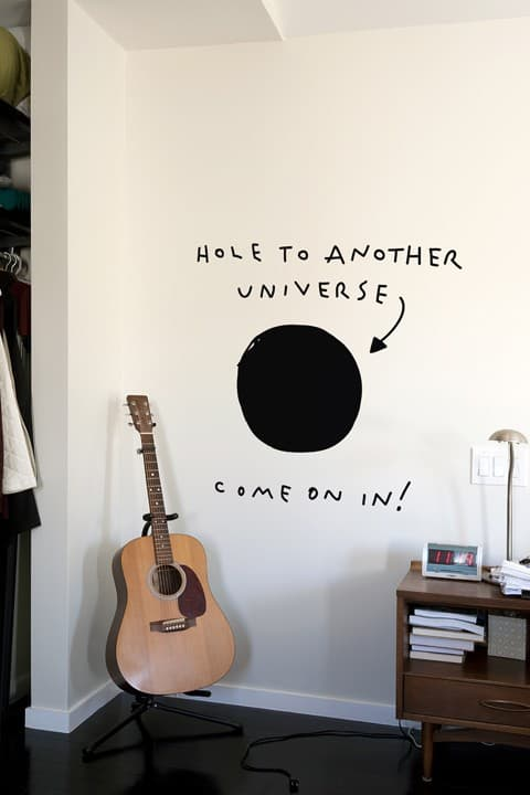 blik hole to another universe Dream Dorm Decor: Deck The Walls