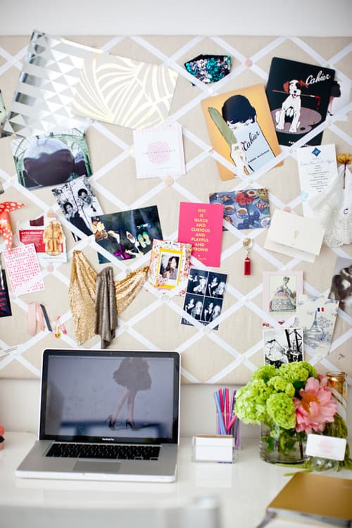 photo board Dream Dorm Decor: Deck The Walls