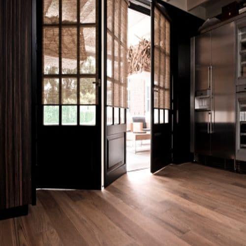 alternatives to enclosed door blinds you can install. Black Bedroom Furniture Sets. Home Design Ideas