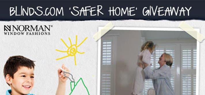 Safer Home Giveaway 1500 Cordless Blinds And Shades