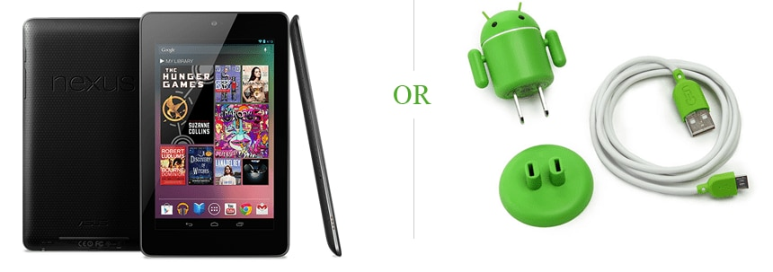 android prizes Were giving away a Nexus Tablet + more!