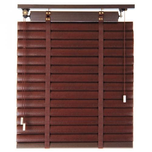 Carra Faux Leather Blinds from Blinds.com