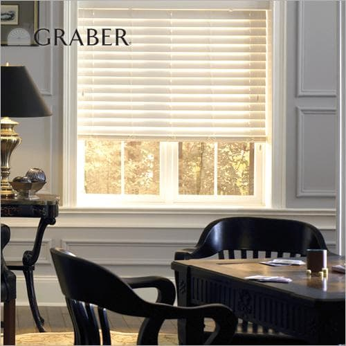 graber lake forest 2 inch faux wood blinds