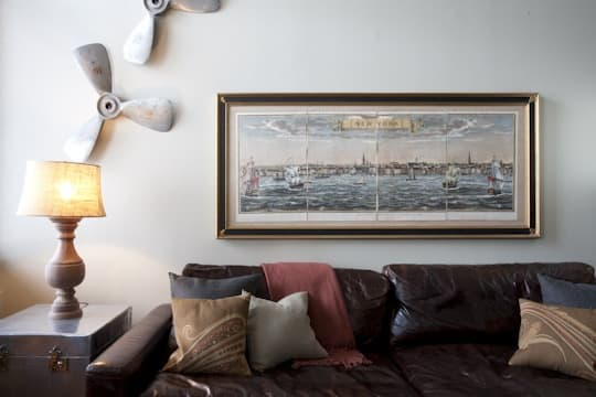 Propeller wall decor