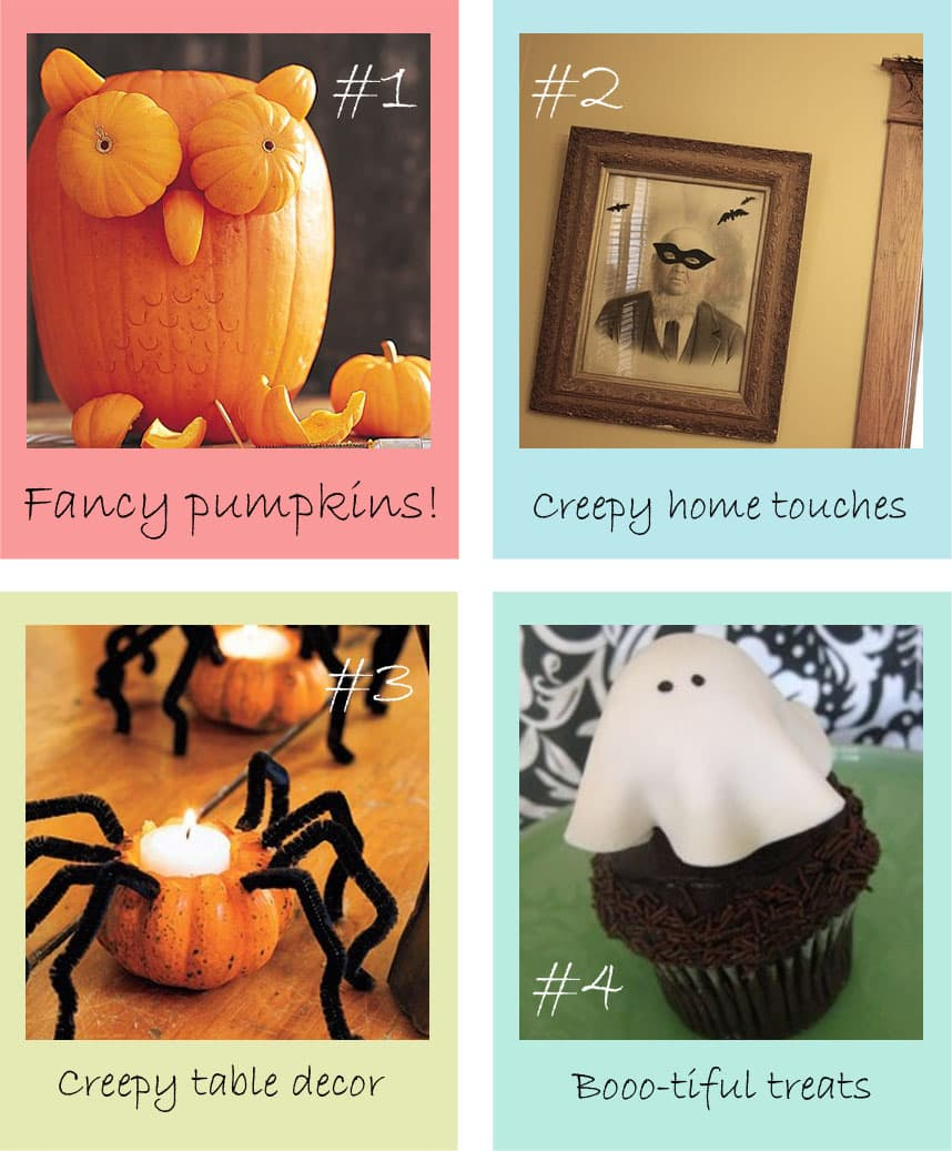 See more halloween inspired pins on our Fall Home Decor Board!