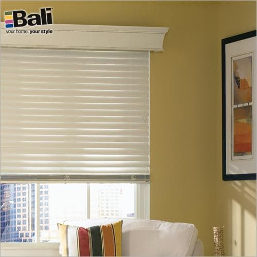 """Bali 2 1/2"""" Northern Heights Shutter Style Wood Blinds"""