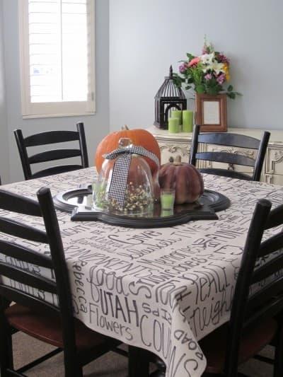 Thankfulness Tablecloth