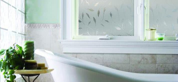 Bathroom Window Treatments The Finishing Touch