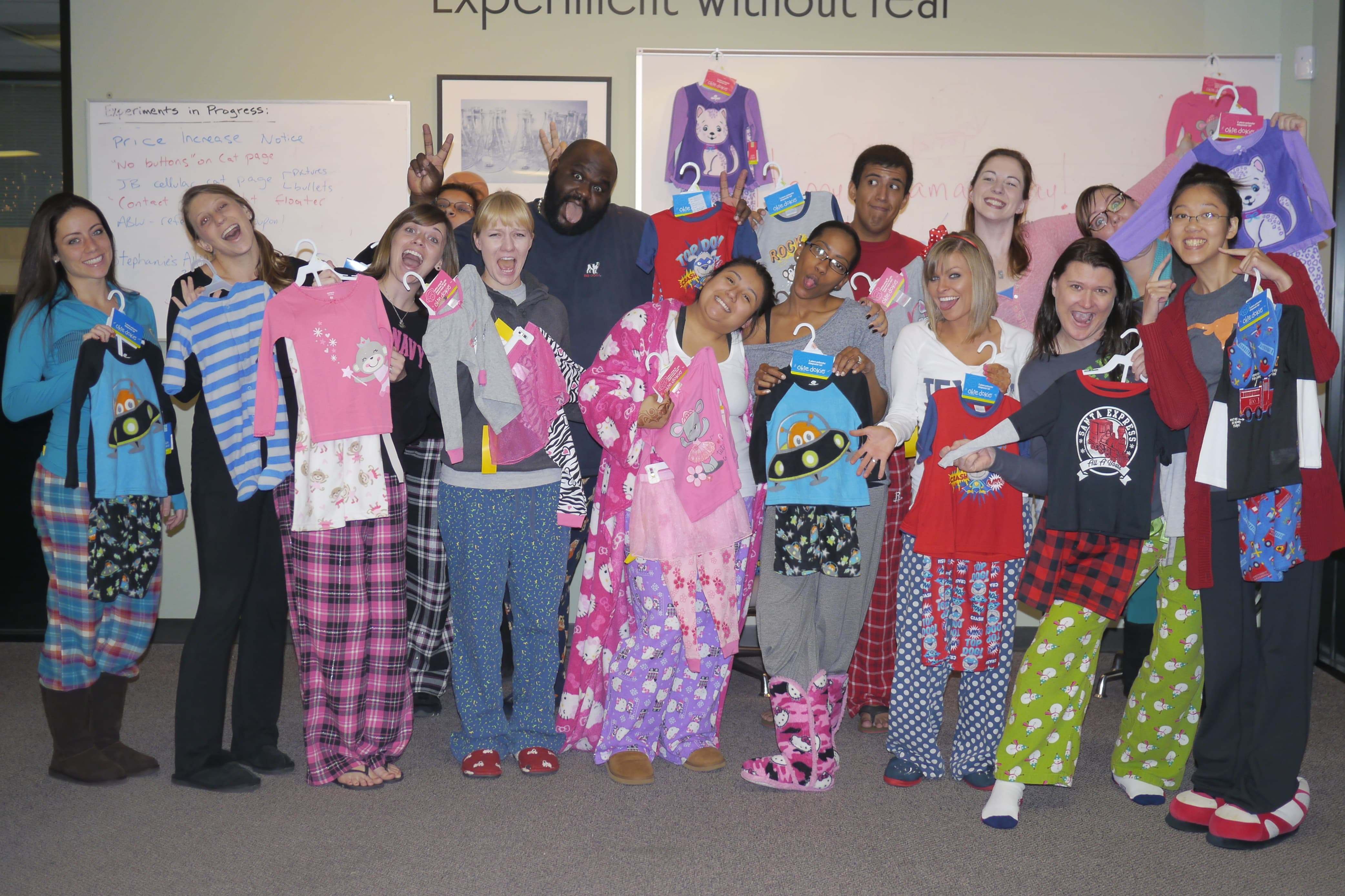 PJ Day at the Blinds.complex!