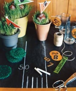 con-tact chalkboard roll super bowl table