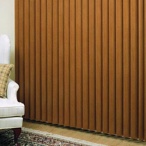 New Product: Faux Wood Vertical Blinds