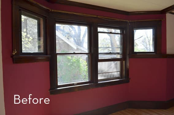 Curbly Window Makeover- Before