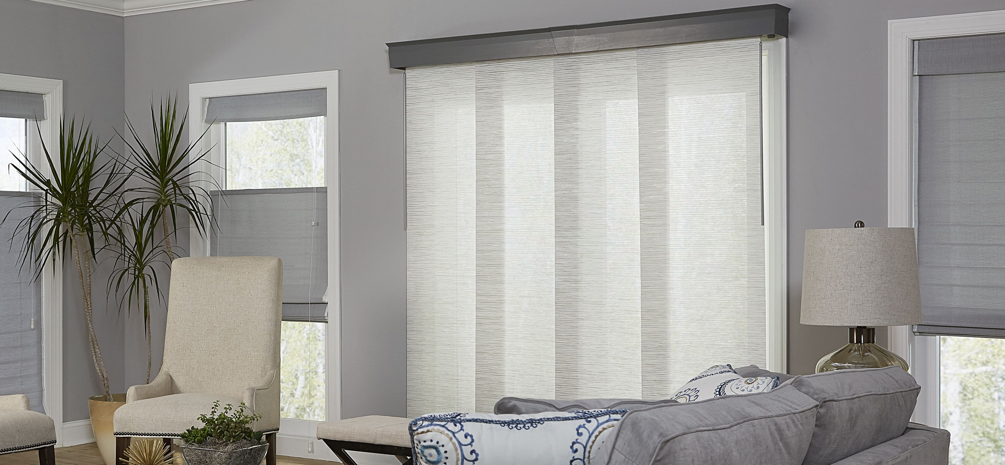 Blinds For Sliding Gl Doors Alternatives To Vertical The Finishing Touch