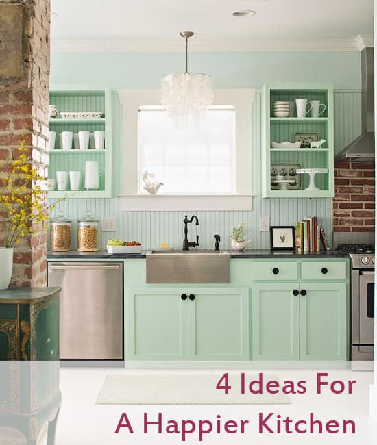 Brighten up your kitchen with color and pieces that make you smile!