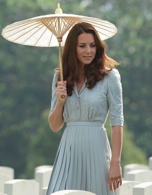 Duchess of Cambridge Pleated Skirt