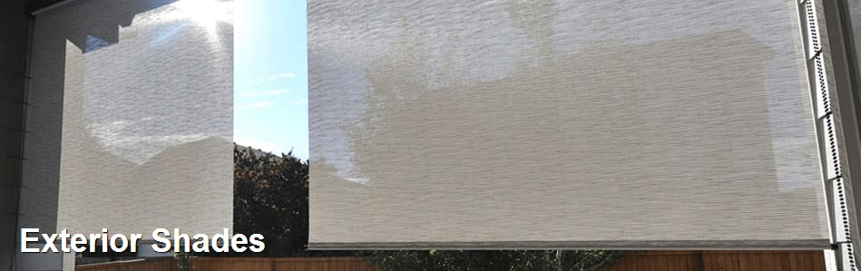 Exterior shades from Blinds.com