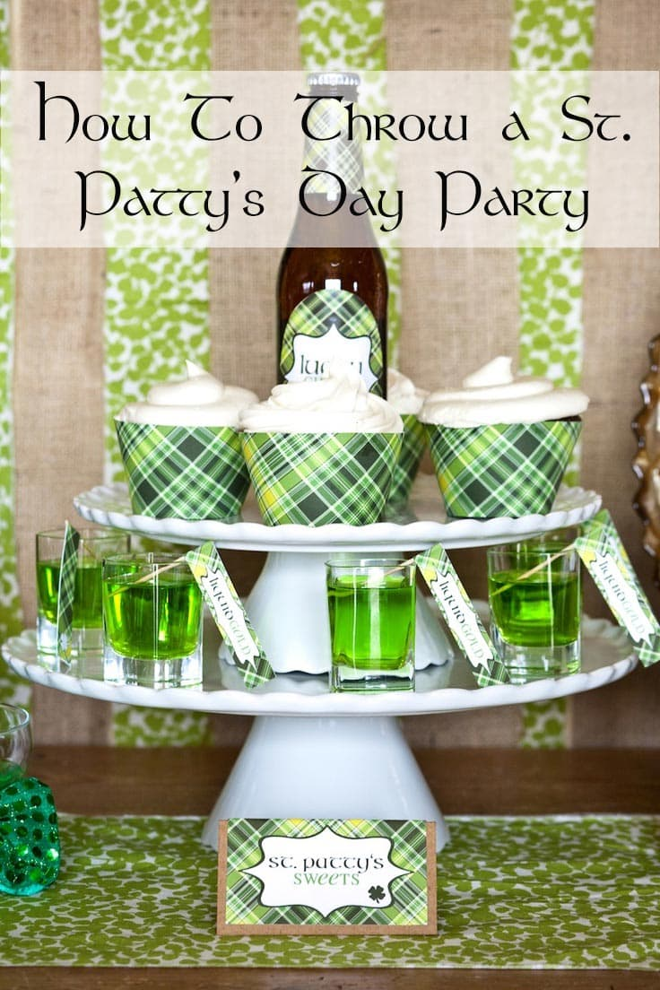 How to Throw a St. Patty's Day Party