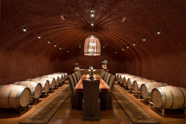 Wine Cave via Kattenburg Architects on Houzz