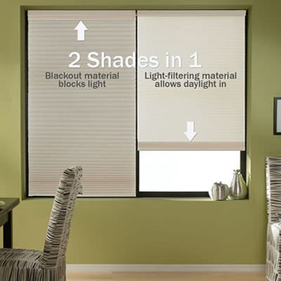 105393 0 p1 New! Blinds.com Brand Cordless Day Night Cellular Shades