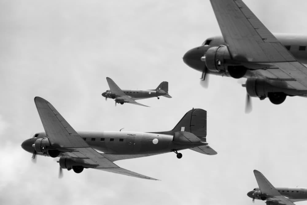 WWII Night time air raids