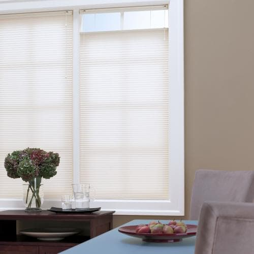 """Blidns.com Brand Economy 3/8"""" Double Cell Light Filtering Shades"""