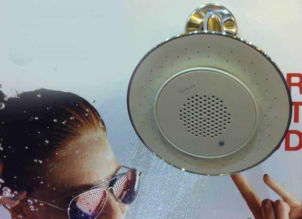 The Kitchen & Bath Industry Show Kohler Audio Shower Head