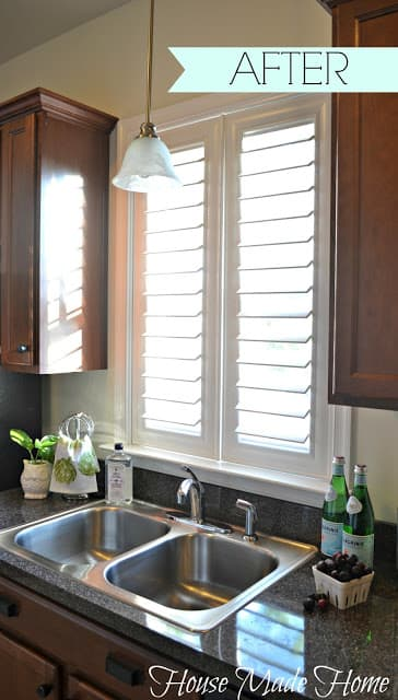 House made home shutters