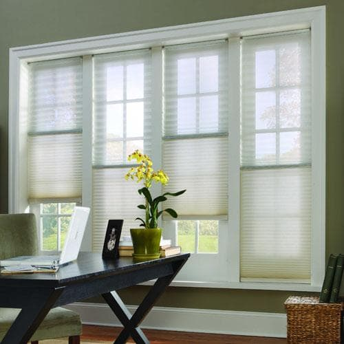 Sheer Beauty New Cellular Shades with Trilight The Finishing
