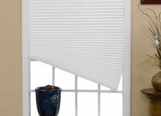 How to fix crooked cellular shades