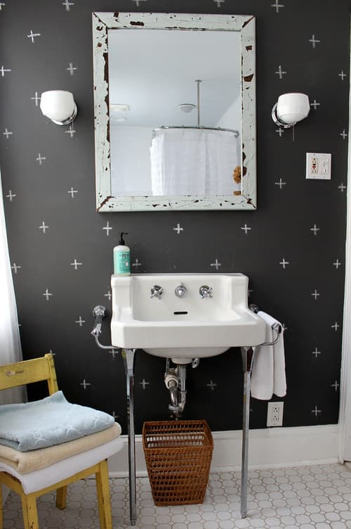 eclectic bathroom by philadelphia media and bloggers via houzz