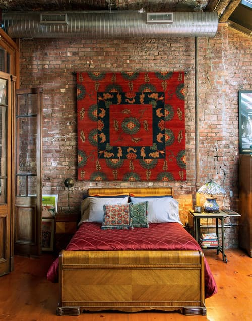 Eclectic Bedroom by New York Carpet and Flooring Ralo (Tibet Carpet)