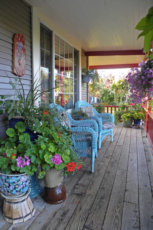 Eclectic Porch by Dallas Media and Bloggers Sarah Greenman