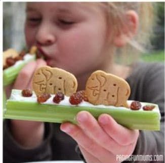 kids lunches celery Pinterest Fab 4: Easy school lunches