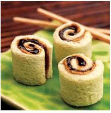kids lunches pbj sushi Pinterest Fab 4: Easy school lunches