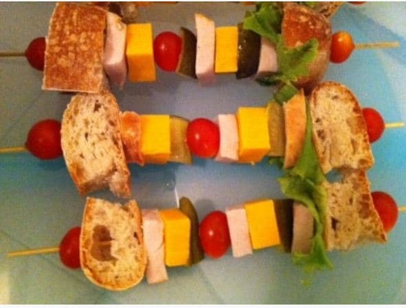 kids lunches skewers Pinterest Fab 4: Easy school lunches