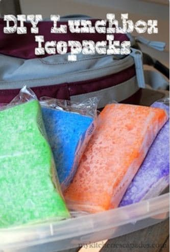 kids lunches sponges Pinterest Fab 4: Easy school lunches