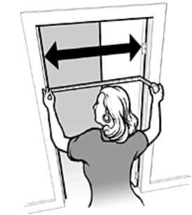 measure door