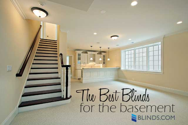 Basement Blinds Window FAQ   What Are The Best Blinds for the Basement?