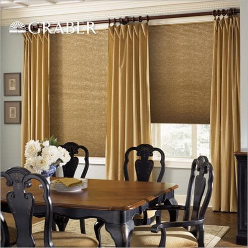 Graber CrystalPleat Light Filtering Shades