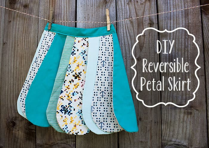Pretty Prudent Reversible Skirt